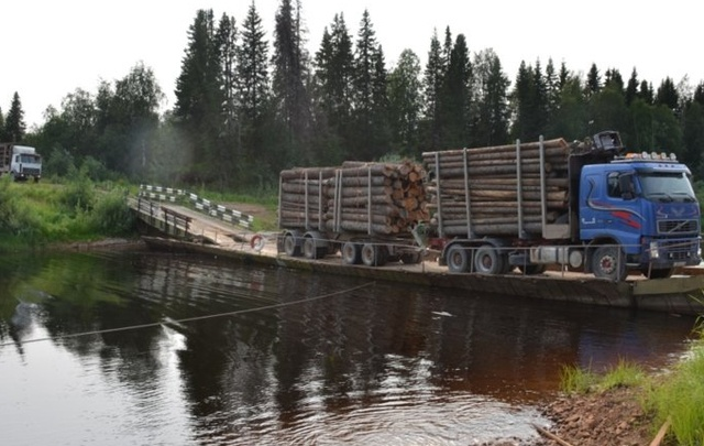 На дорогах Архангельской области сохраняется опасность подтопления