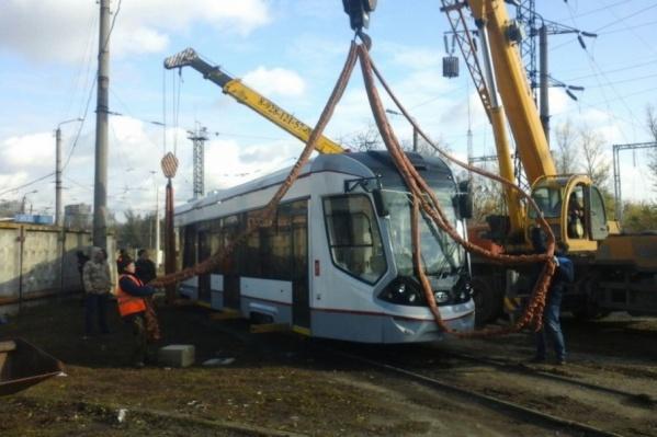 Новый трамвай будет ходить по маршруту №10