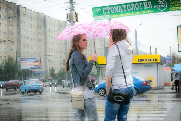По прогнозу синоптиков, дожди на этой неделе будут кратковременными