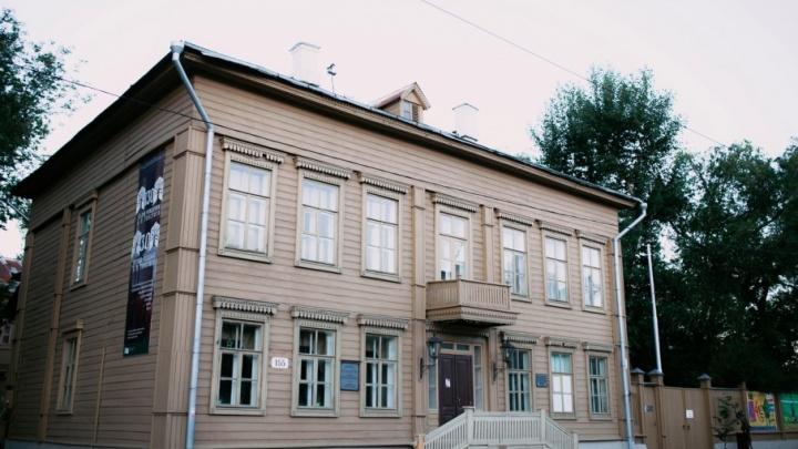 В Самаре на крыльце усадьбы Алексея Толстого поставят тумбы для отдыха