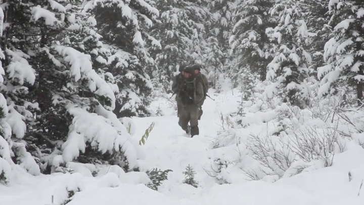 Прошли маршем по Саянам: самарский спецназ искал пострадавших от лавины в горах