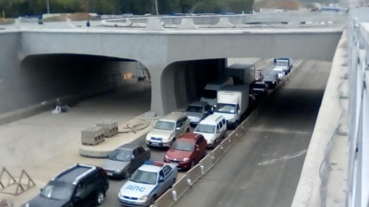 Старые пробки на новый лад: в Самаре открыли тоннель на «Раките»
