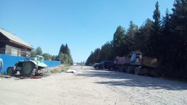 В Поморье пьяный водитель «Шевроле» врезался в трактор