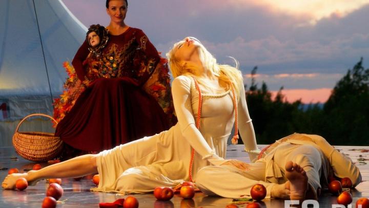 Смерть влюбленных на закате: в Губахе прошел фестиваль «Тайны горы Крестовой»