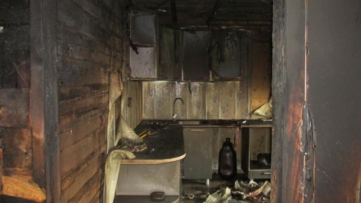 Из-за слишком «теплого пола» загорелся дом в коттеджном поселке Часовенское