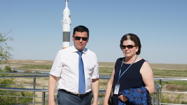 Валентина Терешкова отправила в космос корабль с астронавтами из России и Европы