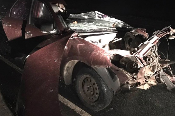 Сильнее всего пострадал кузов автомобиля