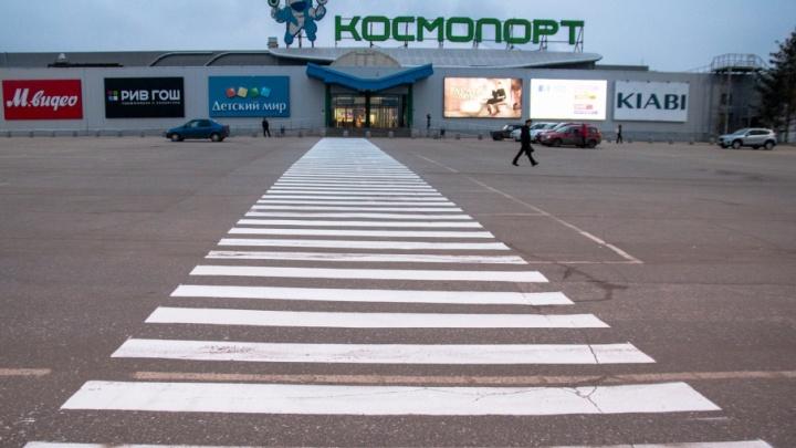 Суд отказался закрывать торговый центр «Космопорт»