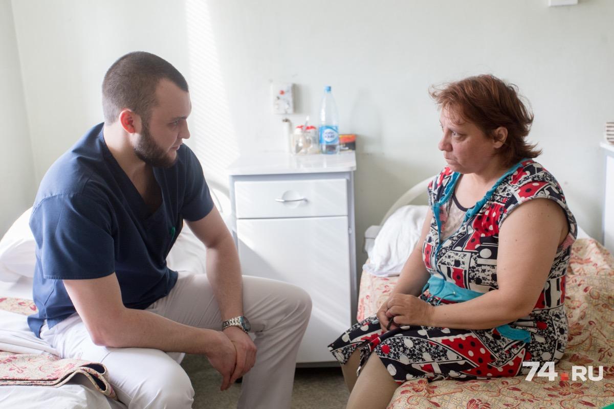 У Светланы врачи обнаружили опухоль на самой ранней стадии, выдал ее непроходящий кашель