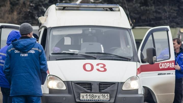 В аварии под Ростовом один человек погиб, трое пострадали