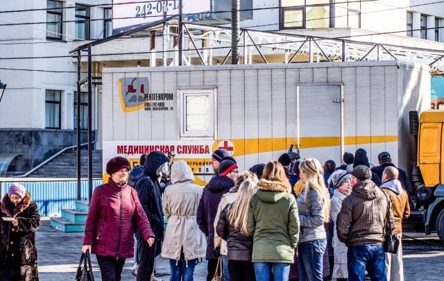 Врачи нашли патологии у семи челябинцев в рамках акции «Просветись!» на Кировке