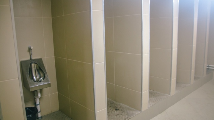 В нежно-бежевых тонах: подземный туалет на Маяковского отремонтируют до 31 мая