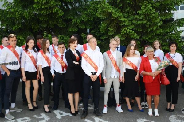 Среди выпускников призеры олимпиад и отличники ГТО