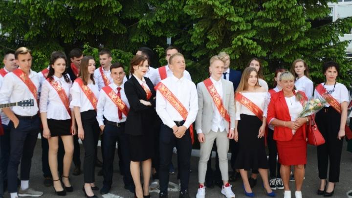 Молодая смена: для выпускников «Роснефть-класса» в Сызрани прозвенел последний звонок