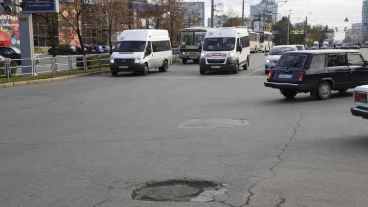 В Челябинске маршрутчик сбил женщину-пешехода