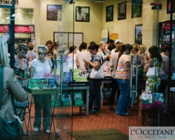 L'Occitane en Provence: официальное открытие бутика в ТРЦ «Фокус»