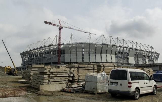 На стадионе «Ростов-Арена» завершается строительство билетных касс и КПП