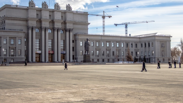 В Самаре стартовал ремонт площади Куйбышева