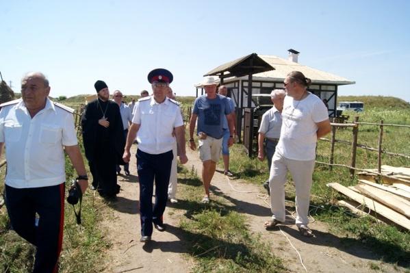 Гости посетили единственный на Юге России гольф-клуб и кинокластер «Дон»