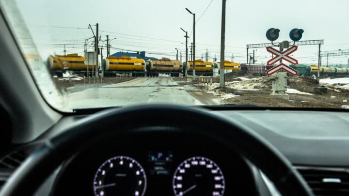 Железнодорожный переезд в Крутых Ключах оборудуют фото- и видеокамерами