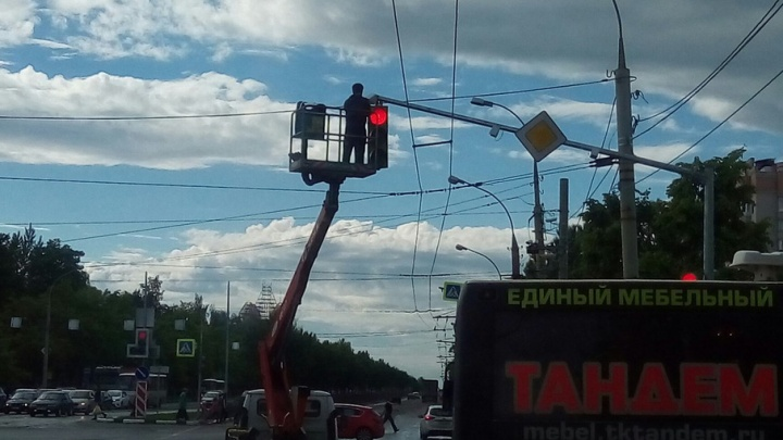 В Ярославле установили еще одну камеру перед стоп-линией