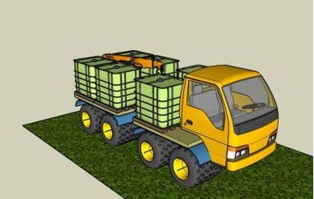 В Тольятти создали проект вездехода, который сможет передвигаться по Арктике на спущенных колесах