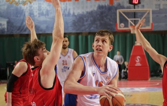 Баскетбольная команда «Самара» сравняла счет в четвертьфинальной серии суперлиги