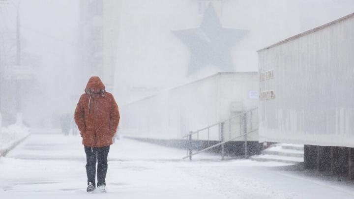 Предстоящей ночью в Волгоградской области похолодает до –22ºС