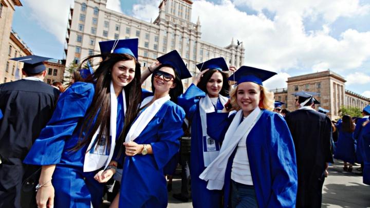 Выпускной в ЮУрГУ завершился вручением дипломов и предложением выйти замуж