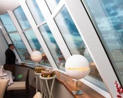 Открылся самый высокий ресторан в Тюмени