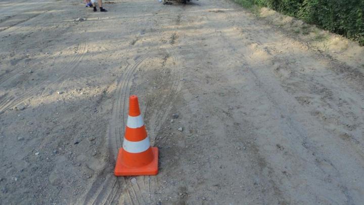 В Котласе нетрезвый водитель «Мицубиси» сбил мужчину на пешеходном переходе