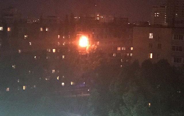 В Самаре при пожаре в многоквартирном доме погиб мужчина