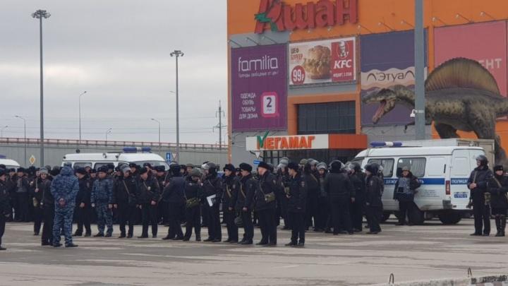 Спецслужбы оцепили территорию вокруг нового ростовского стадиона