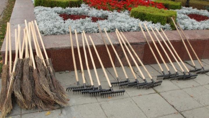 Осенним субботникам в Челябинске отведут целый месяц