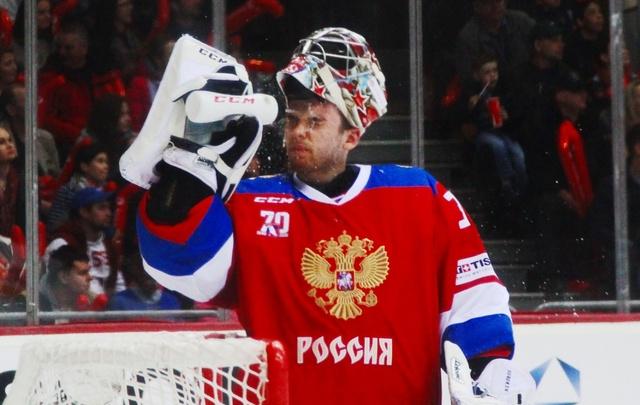 Сборная России потерпела поражение в матче Еврочелленджа на челябинском льду
