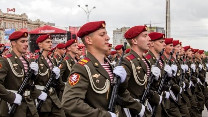 Президентский полк, ВВС и сухопутные войска: 4000 дончан отправились в армию во время осеннего призыва