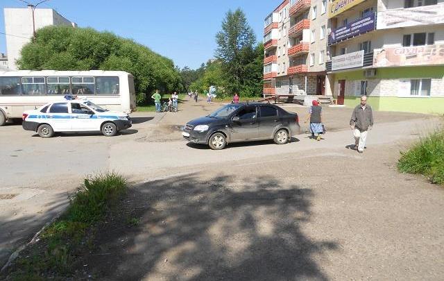 В Прикамье велосипедист-второклассник попал под колеса иномарки