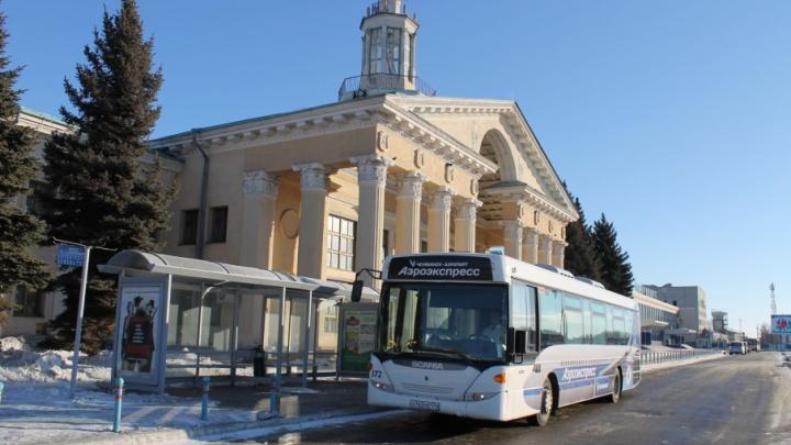 Без Гагарина: в Челябинске изменили маршрут автобуса до аэропорта