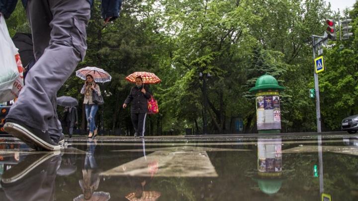 В Ростове из-за ветра рухнул башенный кран