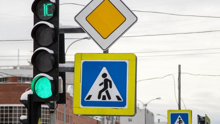 На дорогах Поморья стали чаще сбивать добропорядочных пешеходов