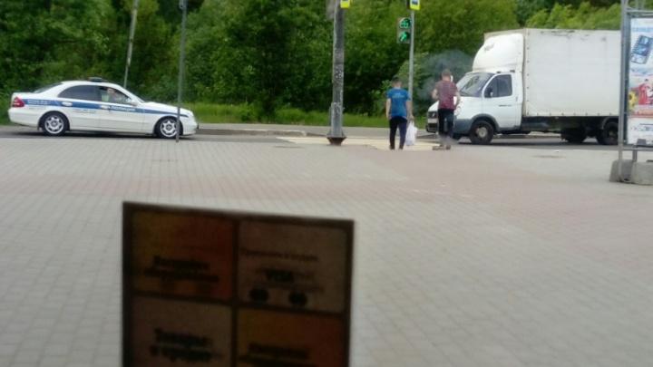В Ярославле грузовик сбил мужчину