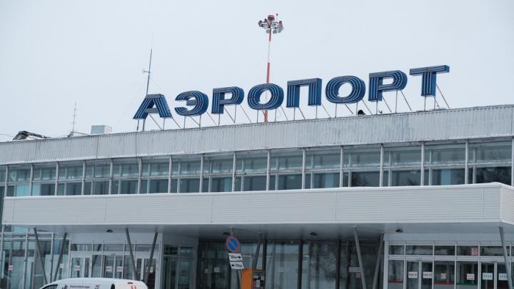 Восемь самолетов не могли вылететь из аэропорта Большое Савино из-за тумана