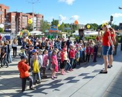 Праздник детства на улице Мира