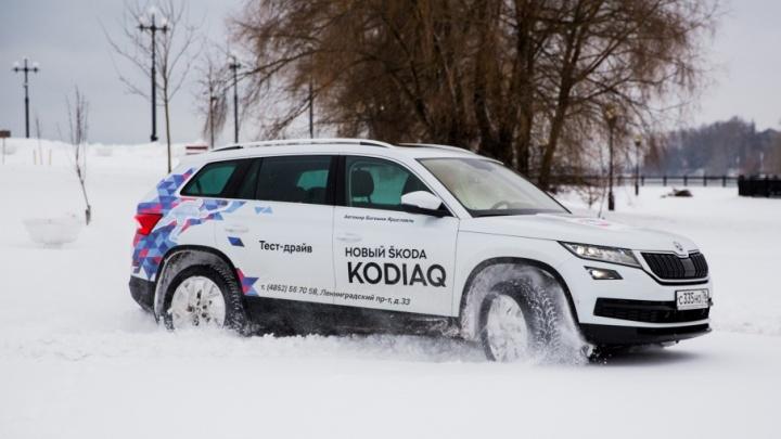 Комплект зимних колес при покупке Kodiaq: специальные предложения от Škoda для покупателей в декабре