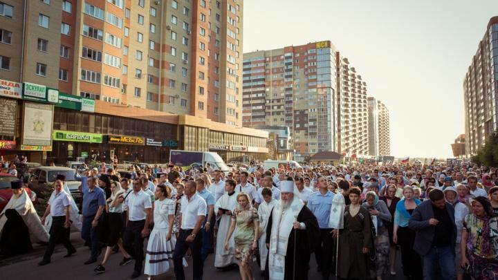 ГК «ЮгСтройИнвест» оказала поддержку в проведении крестного хода в Ставрополе