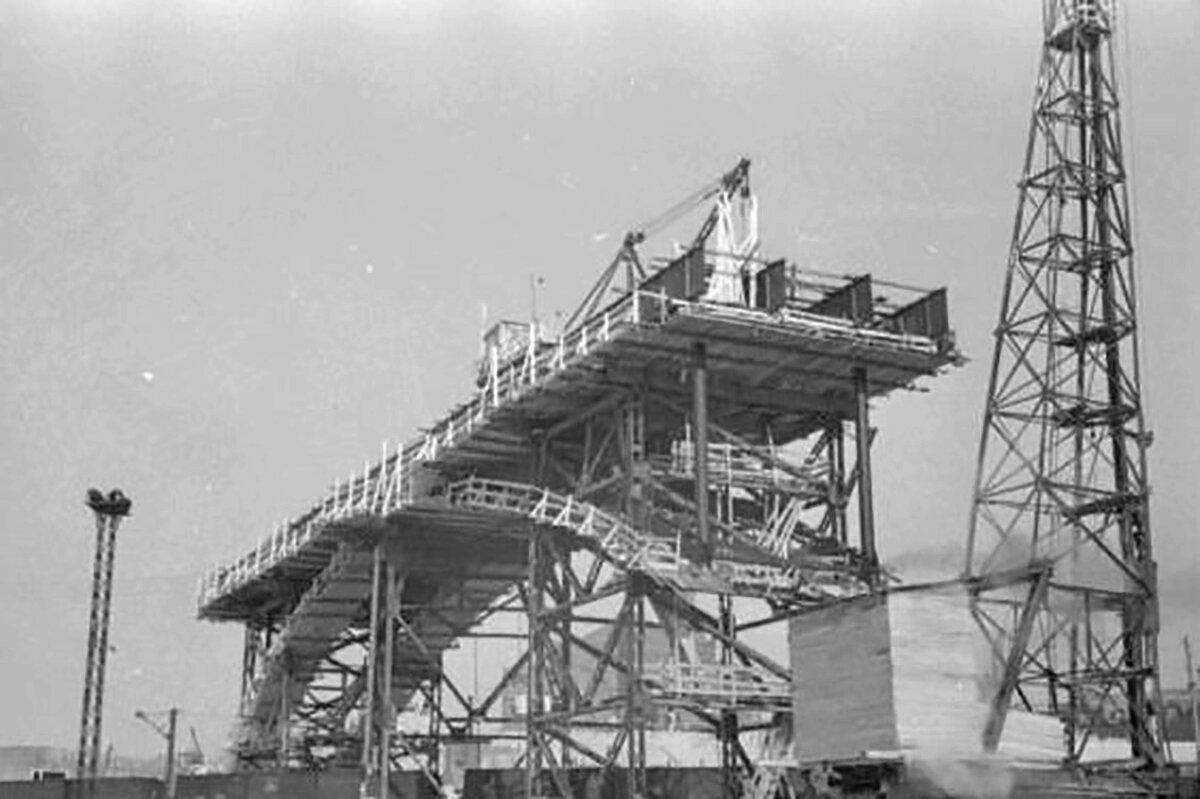 Мост через Самару в створе улицы Главной достроили в 1954 году