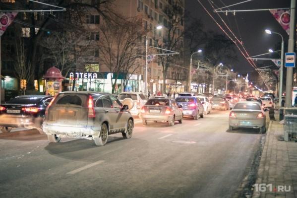 Чтобы разгрузить центр, в Ростове на нескольких улицах изменят движение