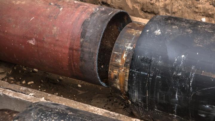 В центре Самары произошел прорыв на теплотрассе: лопнула труба диаметром 700 мм