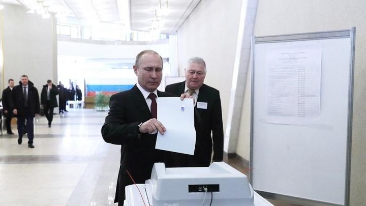 На выборах президента в Самарской области за Путина проголосовали почти 76% избирателей
