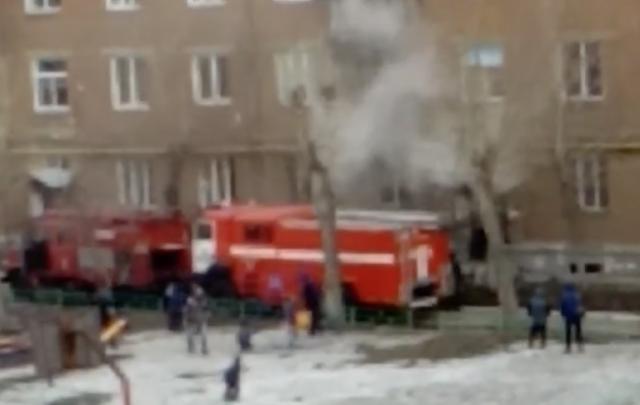 Жильцов дома на ЧМЗ эвакуировали из-за пожара в подвале
